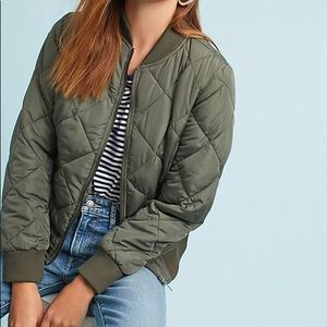 Sanctuary Nia quilted bomber